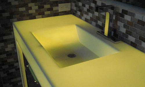 Blat compozit Corian® Lime Ice
