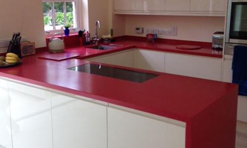 Blat compozit Corian® Red