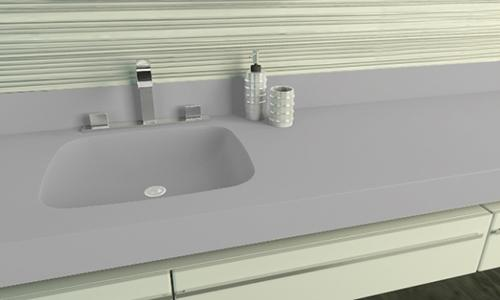 Blat compozit Corian® Silver Gray